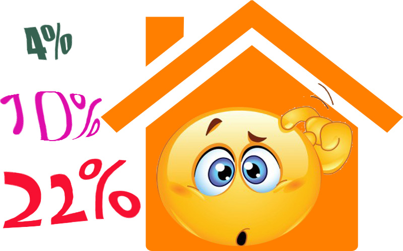Iva al 4 10 o 22 in edilizia e nel mercato immobiliare - Edilizia iva 4 ...