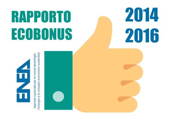 Riqualificazione energetica rapporto enea un triennio for Enea detrazioni fiscali 2016